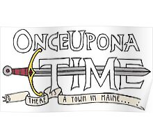 Once Upon Adventure Time Poster