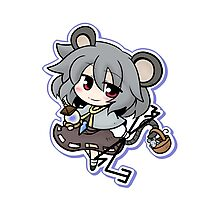 The tiny and clever Nazrin Photographic Print