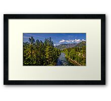 The Wenatchee from 2 Framed Print