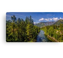 The Wenatchee from 2 Canvas Print