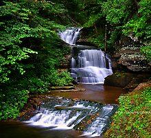 Ithaca's Treman Falls II by PJS15204