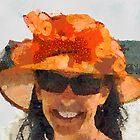 The Orange Hat by Untamedart
