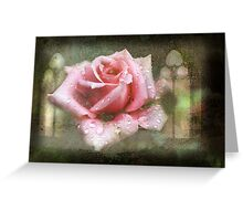 Chapel Rose Greeting Card