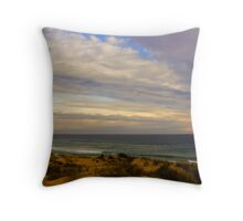 Cape Woolamai Surf Beach Throw Pillow