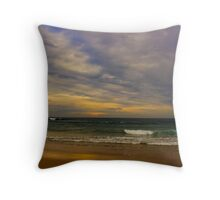 Split in 2 - Part 1 Throw Pillow