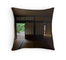 Kikugetsu-tei Tea House Throw Pillow