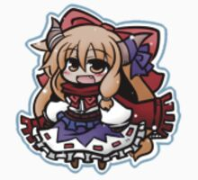 Winter Suika Ibuki Stickers by MagicalFish