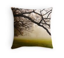 Drooping down Throw Pillow