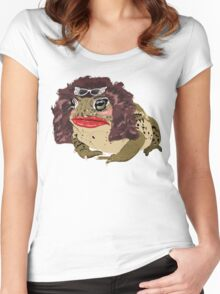 Glamour Toad Women's Fitted Scoop T-Shirt