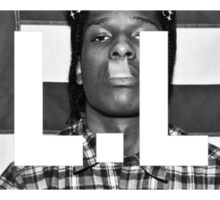 A.L.L.A - A$AP Rocky Text Sticker