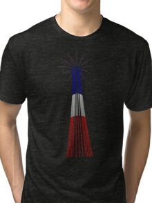Minimalist Coney Island Parachute Tower Tri-blend T-Shirt