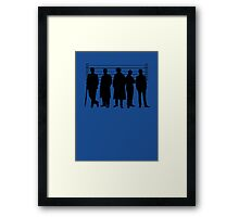 The Usual Holmesian Suspects Framed Print