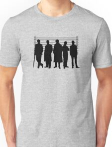 The Usual Holmesian Suspects Unisex T-Shirt