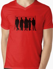 The Usual Holmesian Suspects Mens V-Neck T-Shirt