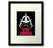Dawn of the Shred Framed Print