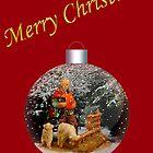 Christmas Shepherd 2 by MaluC