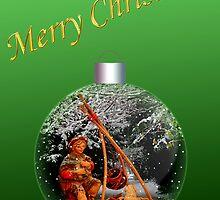 Christmas Shepherd 3 by MaluC