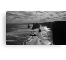 Sunset at the three apostles Canvas Print