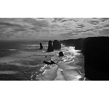 Sunset at the three apostles Photographic Print