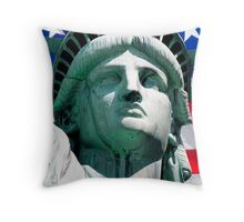 Statue of Liberty, New York, USA Throw Pillow