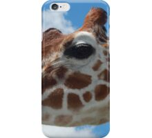 Giraffe with Clouds iPhone Case/Skin