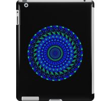 Blue Swirly iPad Case/Skin