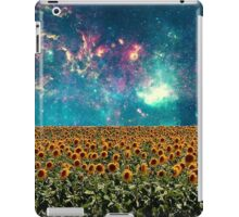 Sunflowers And Space iPad Case/Skin