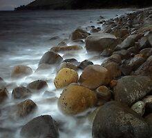 Coromandel coastline 9 by Paul Mercer