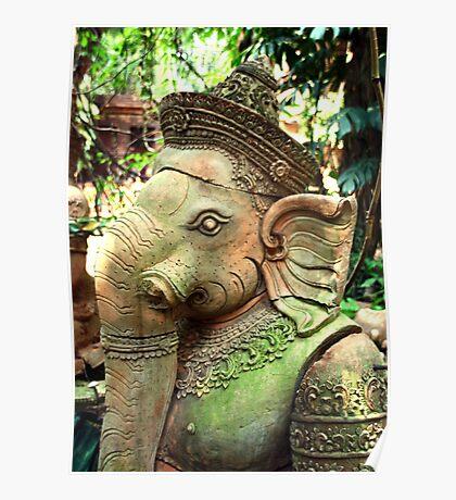 Ganesha, Chiang Mai, Thailand Poster