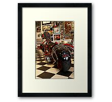 OCC 'Black Widow' Bike Framed Print