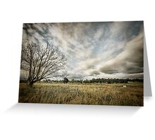 ~  you must not blame me if I do talk to the clouds ~ Greeting Card