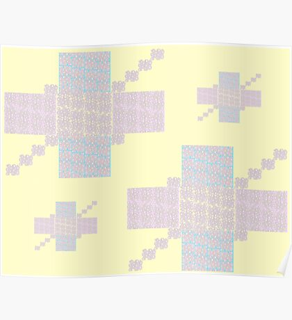 Mellow Yellow Pattern Poster