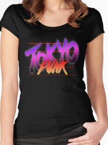 Tokyo Funk Women's Fitted Scoop T-Shirt