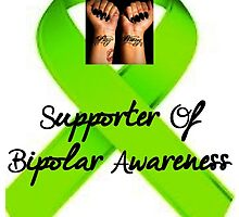 Supporter Of Bipolar Awareness by glamstarchef101