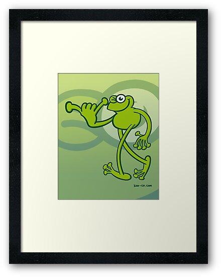 Hawaiian Frog by Zoo-co