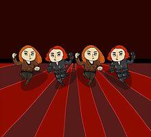 Run! Black Widow Run! (no text) by goddamngroose