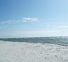 Due Odde beach, Bornholm, Denmark by Tove