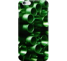 Green Pipe ~ pillow collection iPhone Case/Skin