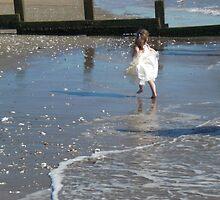 Bridesmaid on the Beach by Pamela Jayne Smith