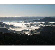 Strath creek hills Photographic Print