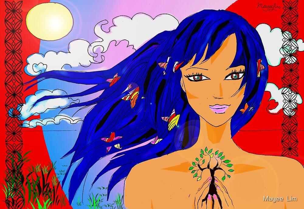 Island girl  by Mayee  Lim