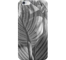 Gray Striped Plant iPhone Case/Skin