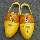 yellow clogs by Joyce Knorz