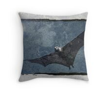 Night Flyer Throw Pillow