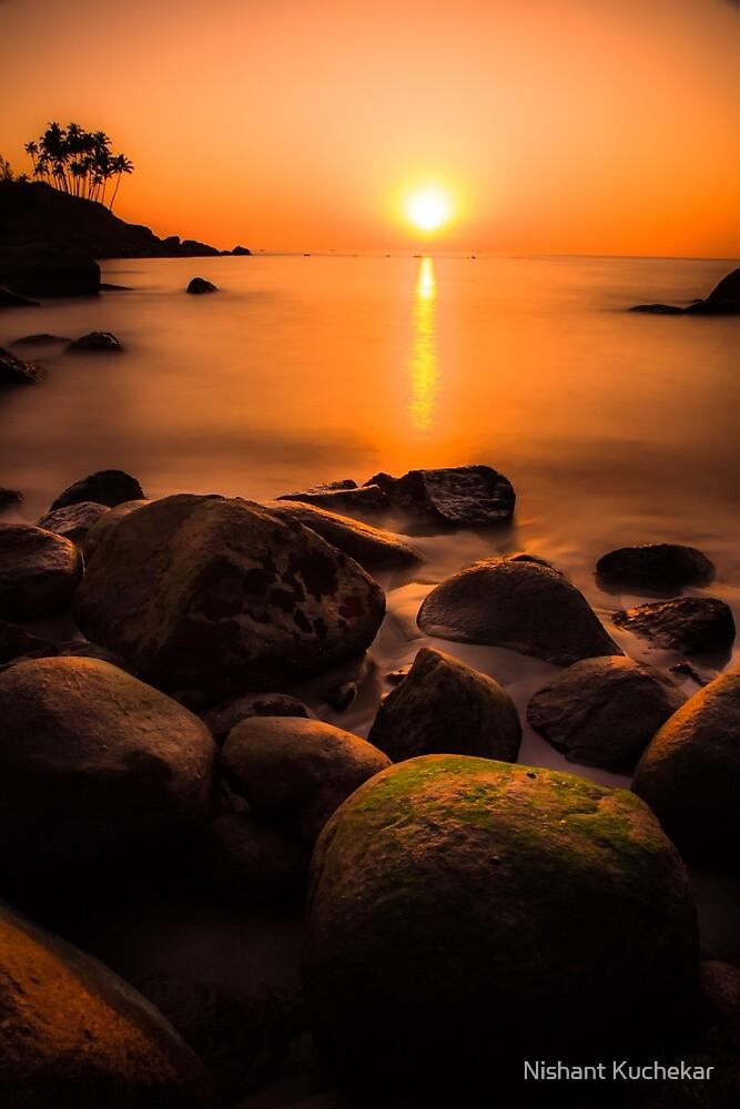 Sunset in Goa (no frame) by Nishant Kuchekar