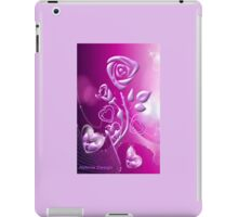 Roses and hearts design ( 3183 Views) iPad Case/Skin
