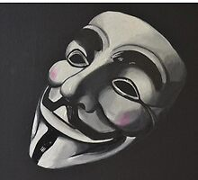 V is for Vendetta by Levi Scoullar-Walker