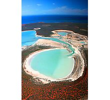 """Big Lagoon"" Shark Bay, Western Australia Photographic Print"