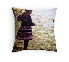 ...moments past... Throw Pillow