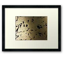 The Hidden Land - Bridge Shadow Above Silver Creek Framed Print
